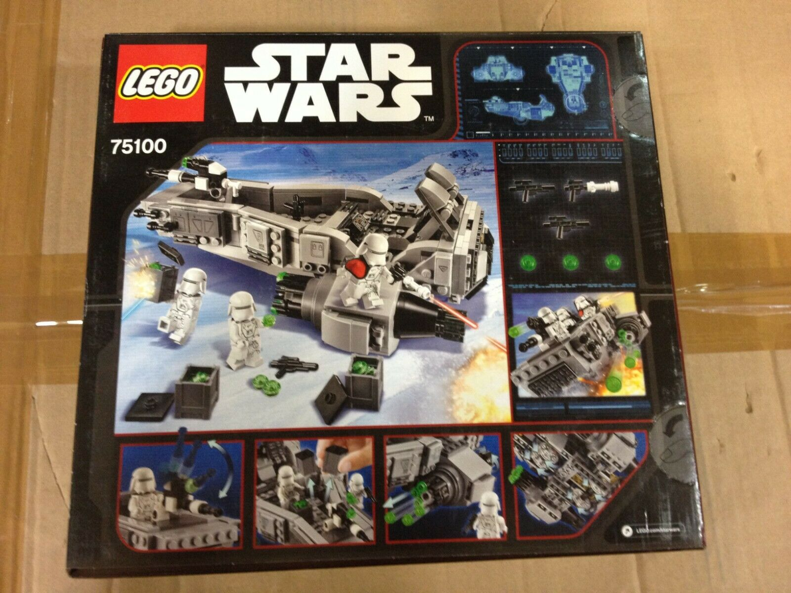 LEGO  estrella guerras FIRST ORDER SNOWSPEEDER,Ref.75100  articoli promozionali