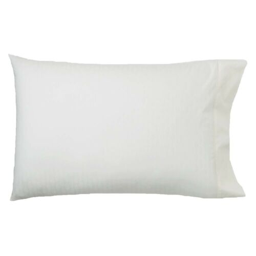 1872 Umbria Cotton King Pillowcases Off White