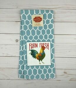 Details about Kay Dee Designs Kitchen Towel Farm Nostalgia Rooster Country