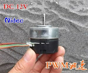 Nidec Dc12v Brushless Motor Pwm Speed Control Urgent Stop