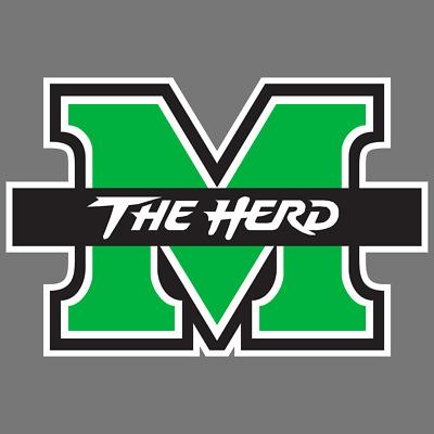 NCAA Rico Industries Die Cut Vinyl Decal Marshall Thundering Herd