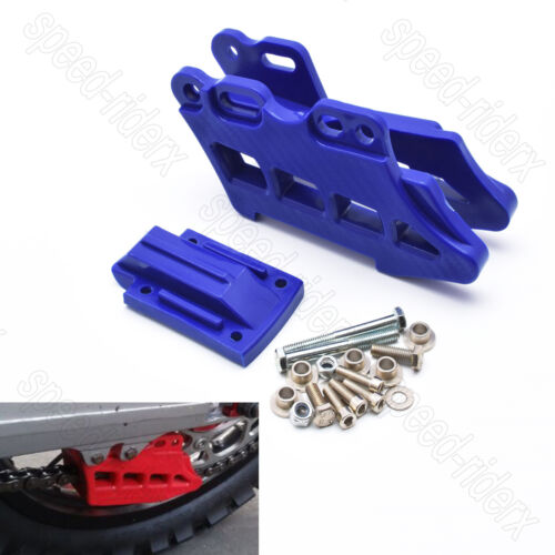 Blue Rear Chain Guide Guard for Yamaha WR250F WR450F YZ125//250//X YZ250F//450F//FX