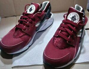 Nike Air Huarache Run Wine Red size 8