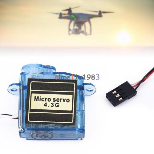 MiNi Micro 4.3g 3.7g Servo For Control Aeromodelling Aircraft Flight Direction