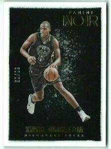 Khris Middleton/Bucks 2015/16 Panini Noir Basketball Color Base Card #116 #60/99