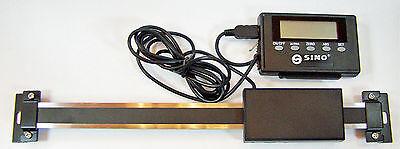 600mm Anbaumessschieber Anschluss ext. Stromversorg. / ext.Display / Durchmesser