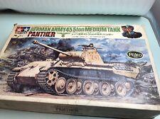 tamiya 1/25 dt106 german army 45.5ton medium tank panther 1967 model kit parts