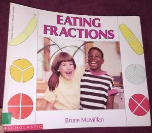 EATING-FRACTIONS-by-Bruce-McMillan-1992-Paperback