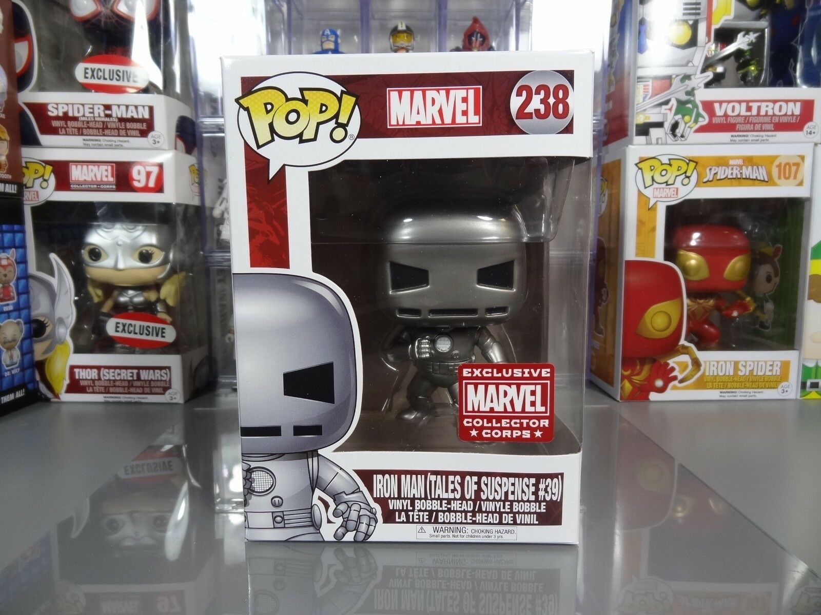 Funko POP  Marvel Collector Corps Tales of Suspense Iron Man