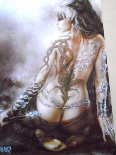 "poster in new condition // 24 x 36/"" Fantasy art...Orig #30487 Luis Royo"