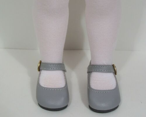 """Debs GRAY Basic LL Doll Shoes For 16/"""" Disney Animators Collection"""