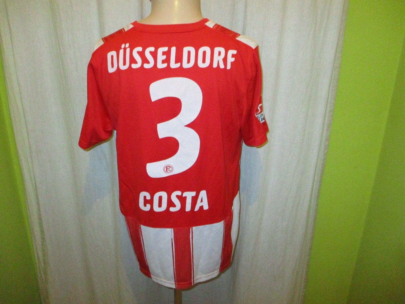 Fortuna Düsseldorf Puma Heim Trikot 2010 11  Stadtsparkasse  + Nr.3 Costa Gr.L  | Zart