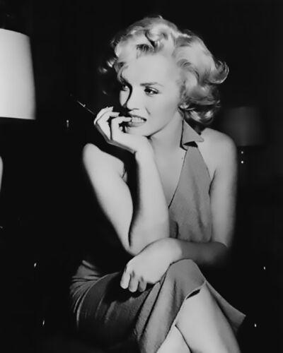 Unframed Photograph Iconic Pensive Marilyn Monroe
