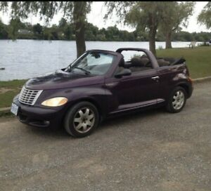 2005 Chrysler PT Cruiser turbo convertible  grand touring