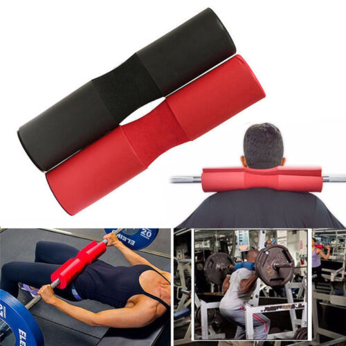 Foam Padded Barbell Bar Cover Squat Pad Weight Lifting Gym Shoulder Back Support