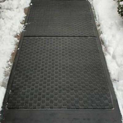 Electric Heated Mats Ice Snow Melting Mat Outdoor Walkway