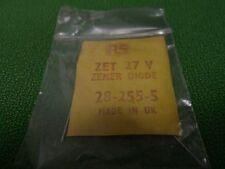 Zener Diode ZET 27V  Volt Vintage Radio Spares 28 2-55-5   X2