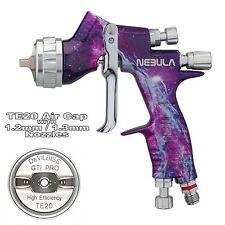 Devilbiss GTI ProLite nebulosa TE20 PAC LACCA / Gloss Pistola A Spruzzo 1,2 / 1,3 mm Punta