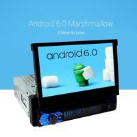 "1 Din Android 6.0 Autoradio Navi GPS 7"" Player Touchscreen BT MP3 WIFI SWC SD"