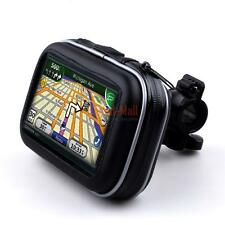 "Waterproof Bike Bicycle Motorcycle Mount Case for 4.3"" Garmin GPS Cell Phone USA"