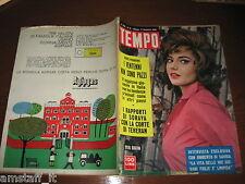 RIVISTA TEMPO 1960/51=SYLVA KOSCINA=HALINA ZALEWSKA=CLAUDE STAVISKY=LUCIA BOSE'
