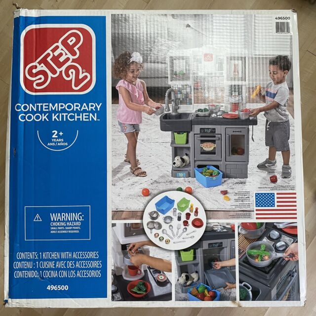 Step2 868300 Contemporary Chef Kitchen Playset For Sale Online Ebay
