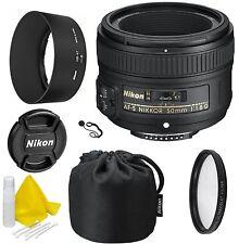 Nikon AF-S NIKKOR 50mm f/1.8G Lens- CellTime Kit