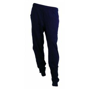 Dettagli su Champion Pantalone con polsino uomo 212148 BS501 Col.Blu