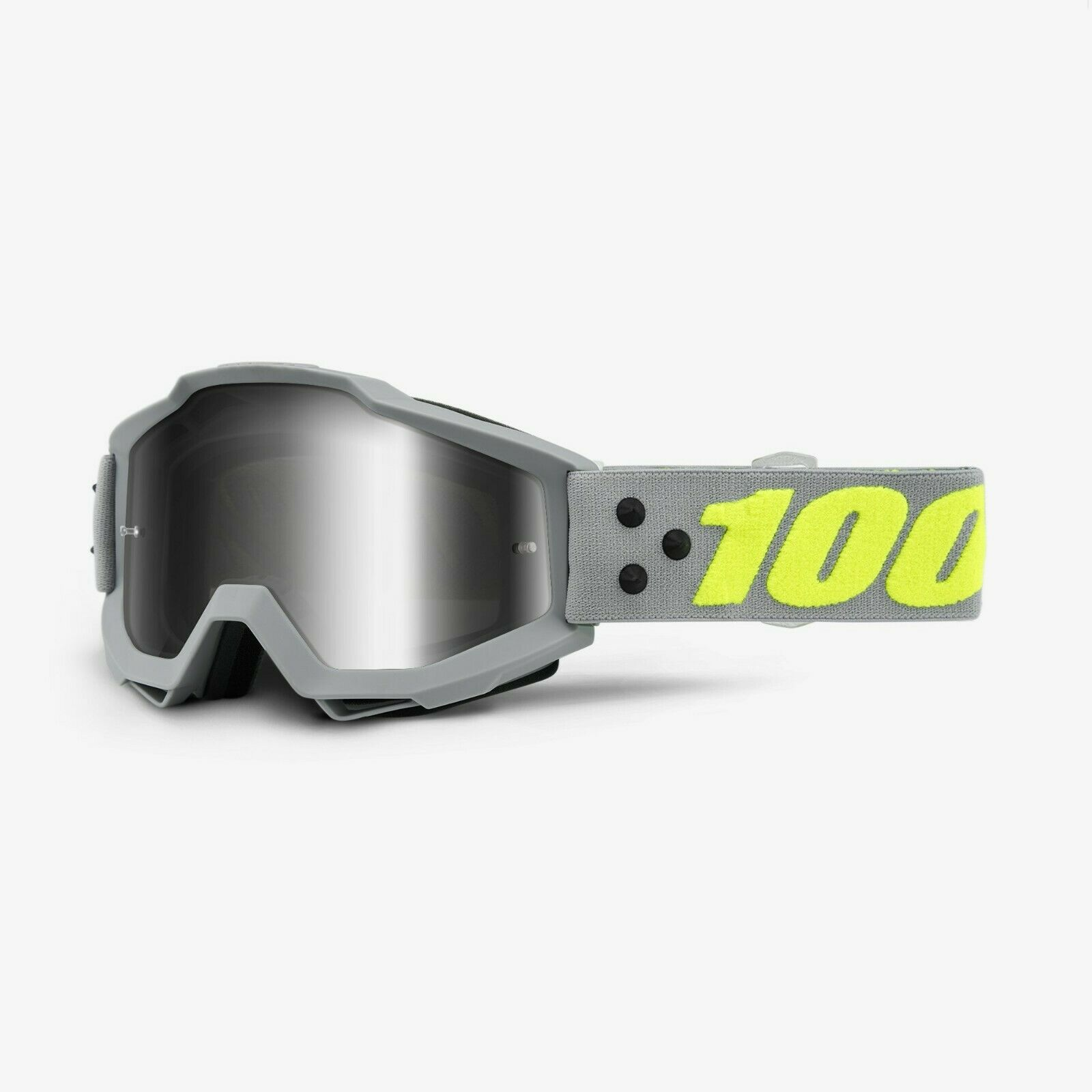 100 % Prozent Accuri Berlin grey verspiegelt MX Motocross Cross Brille MTB BMX