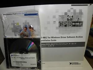 Details about National Instruments NI-488 2 For windows, Driver Software  Archive