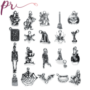 Large Halloween Charm Collection 20 Charms