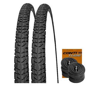 2-x-Kenda-K803-40-622-700x38C-CONTI-SCHLAUCHE-28-034-Fahrrad-Trekking-Reifen