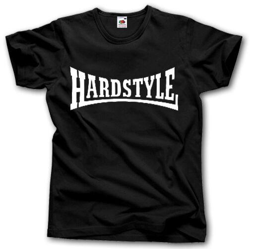 HARDSTYLE HARD BASS  S-XXXL T-SHIRT HARD STYLE MUSIC