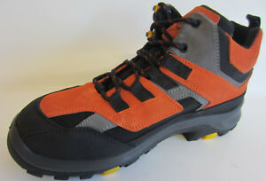 Manovre-by-Plano-Mens-Safety-Boots-MNV-915-Arancio-Black-Sizes-UK-6-x-7-R3A