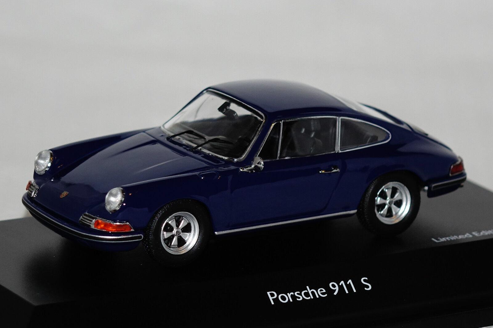 Porsche 911 s bleu 1 of 1000 1 43 schuco NEUF + OVP 3675