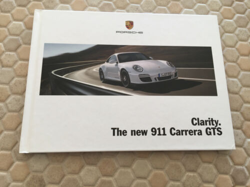 PORSCHE OFFICIAL 911 997 CARRERA GTS HARDBOUND PRESTIGE SALES BROCHURE 2011 USA