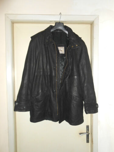 Xl Size Made Coat leather In Pelle Montgomery Cappotto Cappuccio Italy Con 4wqSU6