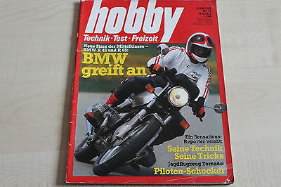 65 Hobby 14/1978 GroßZüGig 163798 Bmw R 45