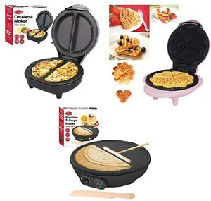 NEW-ELECTRIC-700W-OMELETTE-MAKER-WAFFLE-MAKER-PANCAKE-CREPE-NON-STICK