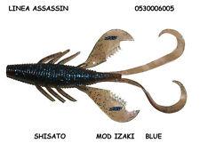 "SOFT BAIT ASSASSIN IZAKI""  SILICONICO "" CREATURE "" BLUE 10 PZ SHISATO"