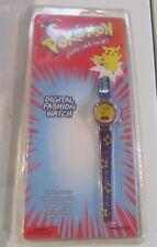 Pokemon vintage Pikachu watch late 1990s NEW IN PACKAGE