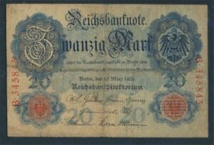 German-Empire-Rosenbg-24a-used-III-1906-20-Mark-8981301