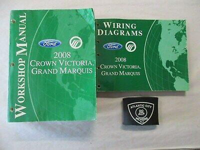 [SCHEMATICS_4CA]  2008 FORD CROWN VICTORIA / GRAND MARQUIS SERVICE SHOP MANUAL & WIRING  DIAGRAMS | eBay | 2008 Crown Victoria Wiring Diagram |  | eBay