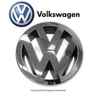 Vw Touareg (07-10) Grille Emblem 'vw' Chrome / Anthracite Genuine 3c0853601cfdy on Sale