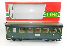 "Lehmann  ""L.G.B"" #3062 OBB Zee am See Kimmel Lighted Passenger COACH #3 -G Scale"