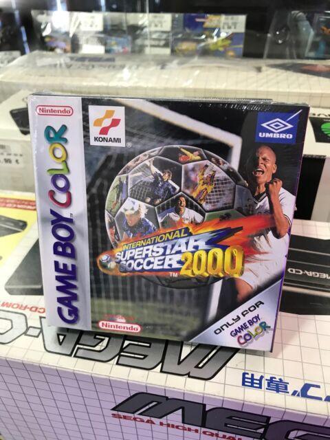 International Superstar Soccer 2000 neuf sous cellophane , version pal fr