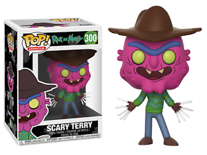 Scary Terry The Rick and Morty TV Show POP! Animation #300 Vinyl Figur Funko