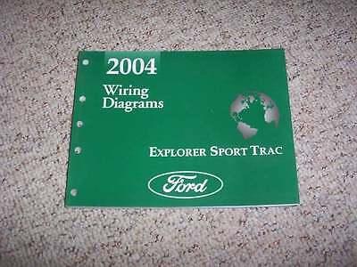 2004 ford explorer sport trac electrical wiring diagram manual 40l v6   ebay