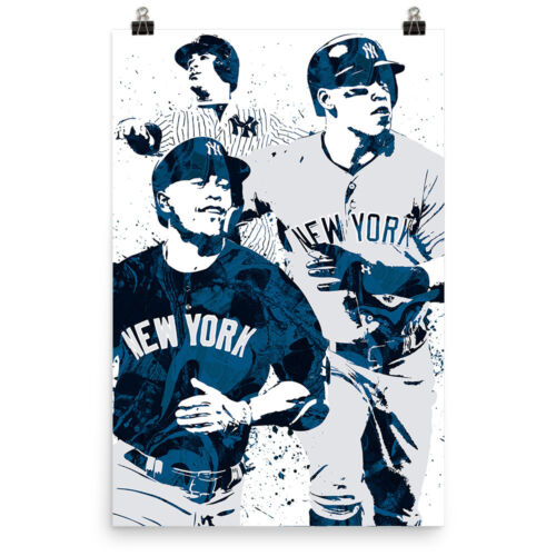 Aaron Judge Gary Sanchez NY Yankees Poster FREE US SHIPPING Giancario Stanton