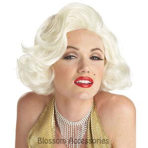 Image is loading W210-Classic-Marilyn-Monroe-Platinum-Blonde-Bombshell-50s- 17b70bd0c39d